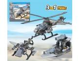 Air Force Apache Helicopter 5 In 1 Model
