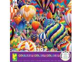 Colors Hot Air Balloons 550Pc