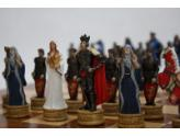 Polyresin Chess Pieces King Arthur
