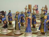 Polyresin Chess Pieces Crusaders