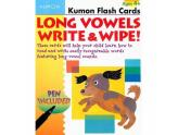 Long Vowels Write & Wipe! Flash Cards