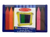 Jumbo Triangular Crayons 10Pc