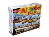 Alphabet Train Floor Puzzle 28Pc
