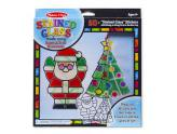 Stained Glass Made Easy Santa & Tree