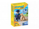 123 Police Officer With Dog