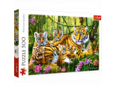 Family Of Tigers 500Pc